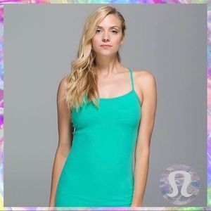Lululemon Power Y Tank Bali Breeze Size 2